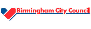 logo Birmingham city council